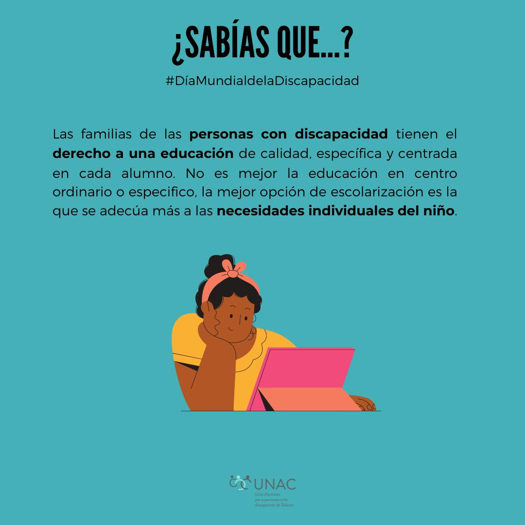 educación personas discapacidad - UNAC - JOAN XXIII