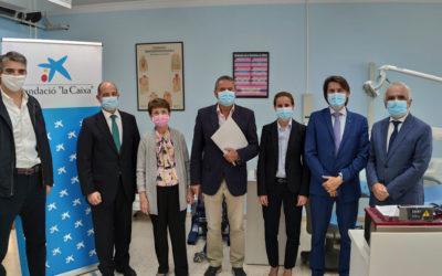 La Fundació La Caixa amb CaixaBank financen equipament per la clínica dental de Joan XXIII