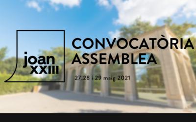 Assemblea ordinària i extraordinària per als propers 27, 28 i 29 de Maig de 2021